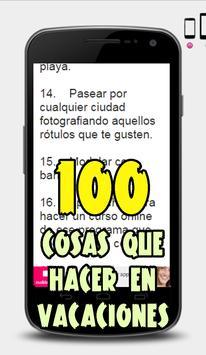 Que Hacer EN VACACIONES screenshot 2