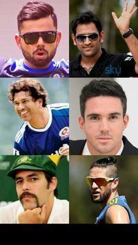 Cricketer's Hair n Beard Style poster