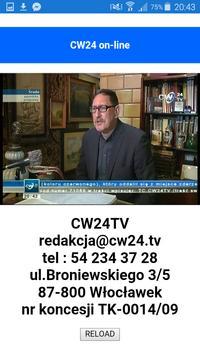 CW24 TV Live screenshot 1