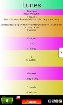 Dieta milagrosa de las 3h apk screenshot