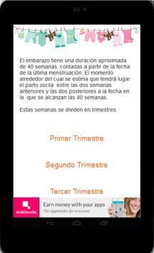 Dieta Embarazo screenshot 4