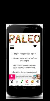 Dieta Paleo poster
