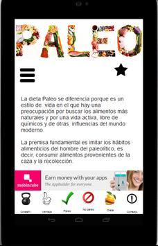 Dieta Paleo apk screenshot