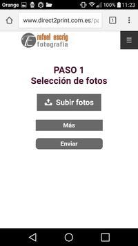 Direct2Print para Android screenshot 1
