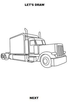 Draw Semi Trucks screenshot 4