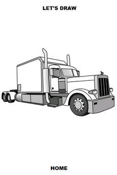 Draw Semi Trucks screenshot 5