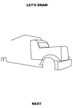 Draw Semi Trucks screenshot 2