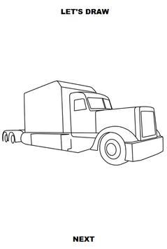 Draw Semi Trucks screenshot 3