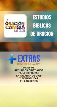 Estudios Biblicos de Oracion poster