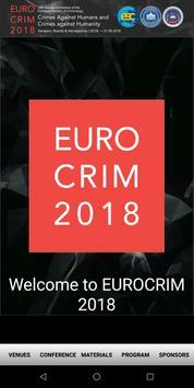 EUROCRIM 2018 screenshot 1