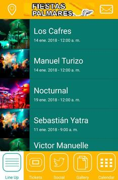 Fiestas Palmares 2018 screenshot 1
