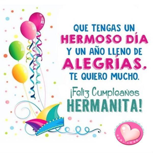 Postales De Feliz Cumpleanos Hermana.Feliz Cumpleanos Hermana Felicitaciones Tarjetas For Android