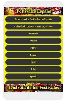 Festivales de España poster