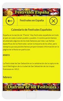 Festivales de España screenshot 11