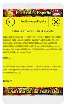Festivales de España screenshot 2