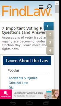 FindLaw - Find your lawyer apk screenshot