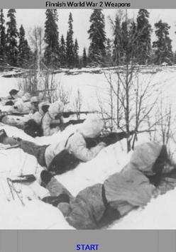 World War 2 Weapons - Finnish poster