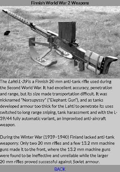 World War 2 Weapons - Finnish screenshot 3