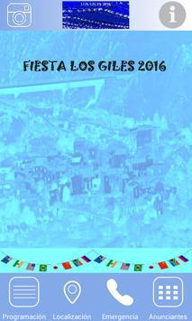 Fiesta de Los Giles 2016 poster