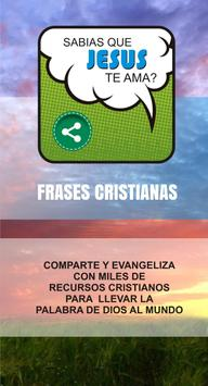 Frases Cristianas poster