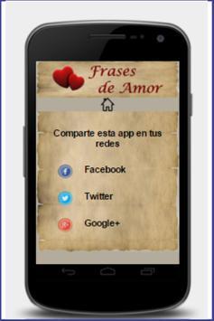 Frases de Amor screenshot 3