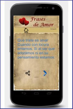 Frases de Amor screenshot 2