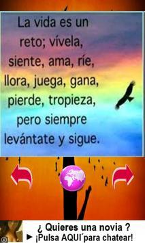 Frases de animo apk screenshot