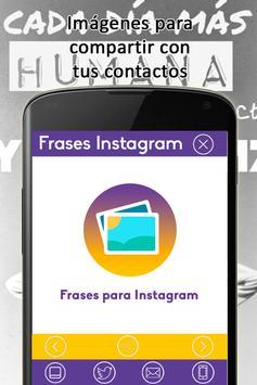Frases Bonitas para Instagram apk screenshot