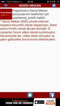 Geniş Mekan apk screenshot