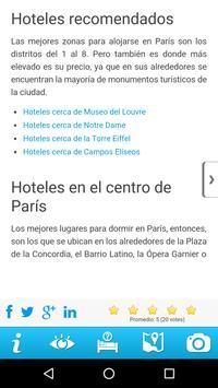 Guía de París apk screenshot