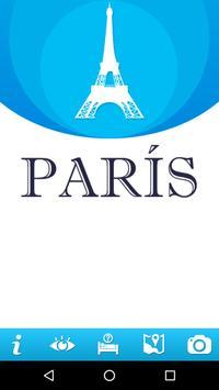 Guía de París poster