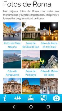 Guía de Roma apk screenshot