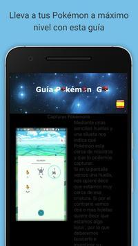 Guía Pokémon Go en Español screenshot 8