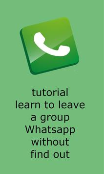 Guide for Leave a WPP Group poster