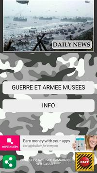 Guide Musées Militaires poster