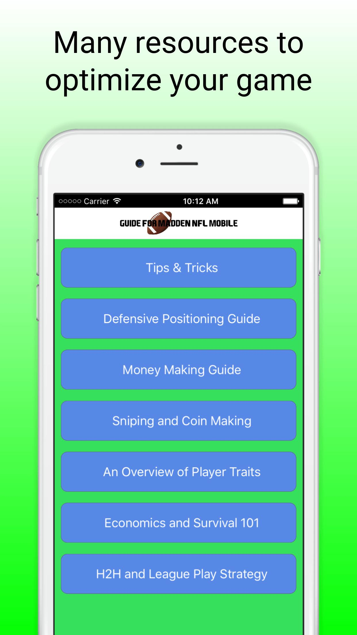 Guide For Madden Nfl Mobile 16 For Android Apk Download
