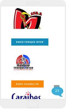 Haitian Radio Stations poster