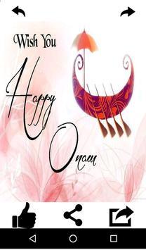Onam Wishes and Greeting Card apk screenshot