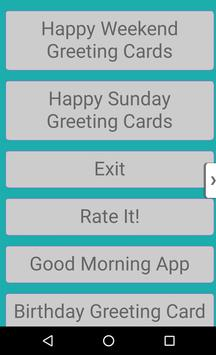 Happy sunday and happy weekend apk download free communication app happy sunday and happy weekend poster m4hsunfo
