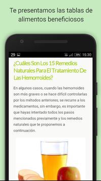 Hemorroides 15 remedios apk screenshot