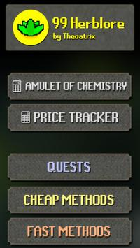 99 Herblore Oldschool RS Price Method Tracker