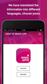 How to make apps for mobincube poster