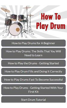 How To Play Drum screenshot 3