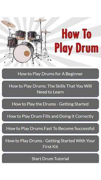 How To Play Drum screenshot 1