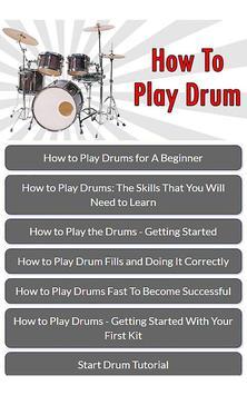 How To Play Drum screenshot 5