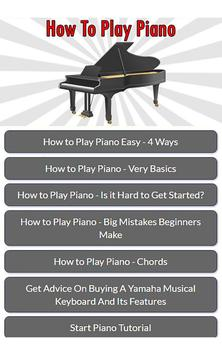 How To Play Piano screenshot 3