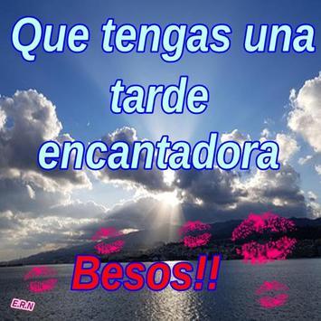 Imágenes De Buenas Tardes Frases Saludos screenshot 6