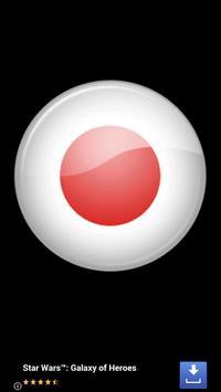 Japan flag map syot layar 5
