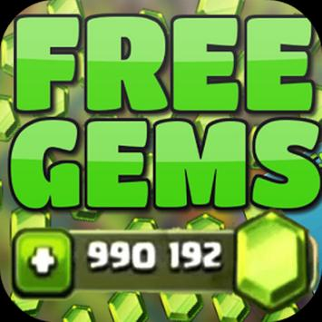 100k Gems for Clash of Clans poster