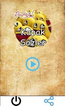 Kapak Sözler Paylaş poster